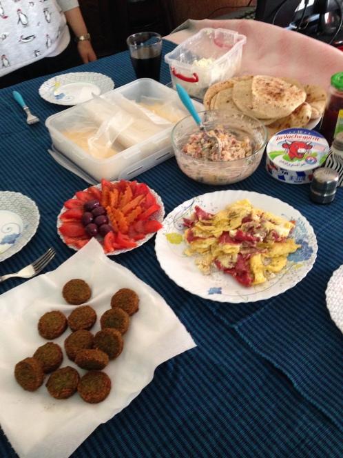 An Egyptian breakfast!